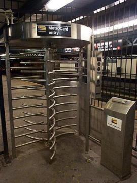 Image result for subway  turnstile